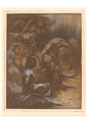 Johannes Josephus Aarts - Five Mermaids iii
