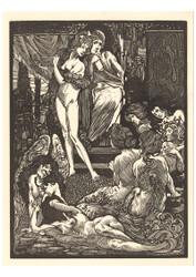 Johannes Josephus Aarts - Nine Fantastic Female Figures