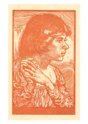 Johannes Josephus Aarts - Portrait of an Unknown Girl