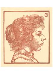 Johannes Josephus Aarts - Portrait of an Unknown Woman