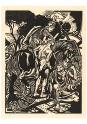 Johannes Josephus Aarts - Roman Rider on Horseback