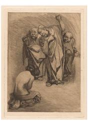 Johannes Josephus Aarts - Stoning of a Woman