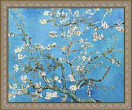 Almond Blossom Gold Frame