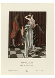Gazette du Bon Ton - Evening Dress