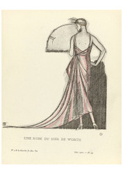 Gazette du Bon Ton - An Evening Dress from Worth