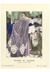 Gazette du Bon Ton - Bouquet of Violets
