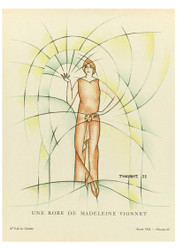 Gazette du Bon Ton - A Dress Madeleine of Vionnet