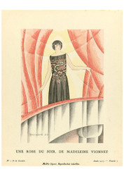 Gazette du Bon Ton - An Evening Dress from Madeleine Vionnet