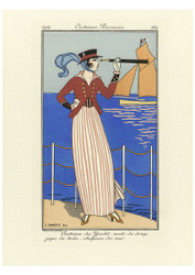 George Barbier - Parisians Yacht Costume