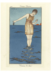George Barbier - Bathing Suit