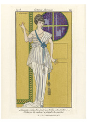 George Barbier - Grand Evening Dress