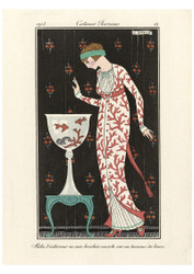 George Barbier - Indoor Dress