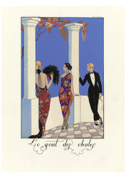 George Barbier - The flavour of shawls