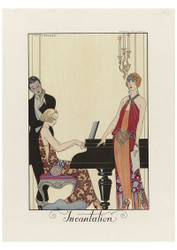 George Barbier - Incantation