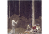 John Bauer - Brother St Martin and Three Trolls