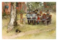 Carl Larsson - Breakfast Under the Big Birch