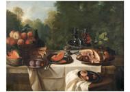 Alexandre Francois Desportes - Breakfast Piece with Ham