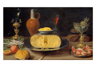 Jacob Fopsen van Es - Breakfast Piece with Cheese and Goblet