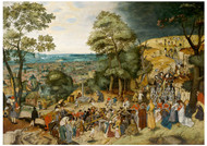 Pieter Brueghel the Younger - Carrying of the Cross