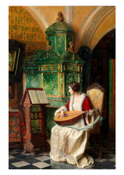 Carl Probst - The Lute Player
