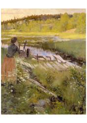 Oscar Bjorck - By the Lake