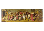 Jheronimus Bosch- Battle between Carnival and Lent