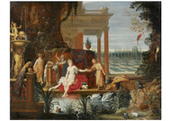 Hendrick van Balen - Bathseba in the Bath Receiving the Letter from King David