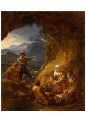 Alexander Laureus - Bandits Entering a Sheperds Dwelling