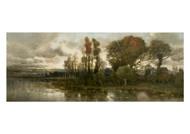 Karl Heffner - Autumn Landscape near Pavia