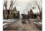 Victor Forssell - At the City Toll Gate