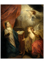 Jacob de Wit - Annunciation to the Virgin