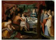 Otto van Veen - A Nocturnal Banquet