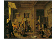 Jan Josef Horemans - A Painter's Studio