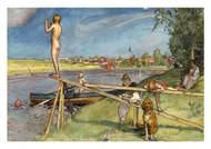 Carl Larsson - A Pleasant Bathing Place