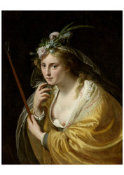 Paulus Moreelse - A Shepherdess