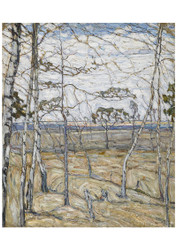 Abraham Manievich - Birch Trees