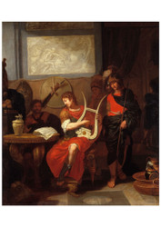 Gerard de Lairesse - Achilles Playing the Lyre before Patrocles