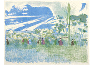 Edouard Vuillard - Across the Fields