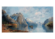 Adolf Kaufmann - In the Hardanger Fjord
