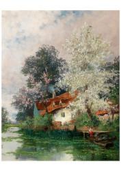 Adolf Kaufmann - Springtime in Normandy