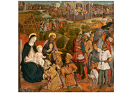 Guidoccio Cozzarelli - Adoration of the Magi