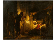 Carl Bloch - Adoration of the Shepherds