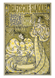 Jan toorop - Lettuce Oil Poster