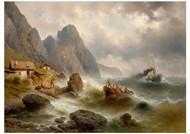 Albert Rieger Trieste - Marine on the Shores of Dalmatia