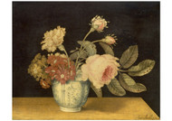 Alexandr Marshal - Flowers in a Delft Jar