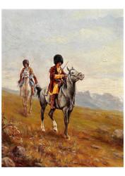 Alexander von Wahl Livonia - Munich Two Caucasian Riders