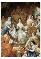 David Klocker Ehrenstrahl - Allegory of Queen Ulrika Eleonoras Regency