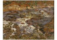 Helmer Osslund - Cascading Brook
