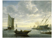 Lieve Pietersz Verschuier - Caulking of a Vessel