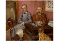 Carl Peter Mazer - Chinese Merchants